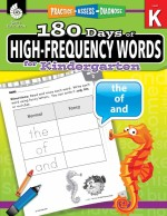 180 Days of High-Frequency Words for Kindergarten: Practice, Assess, Diagnose