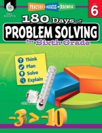 180 Days of Problem Solving for Sixth Grade: Practice, Assess, Diagnose