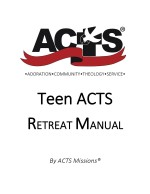 Teen ACTS Retreat Manual