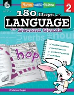 180 Days of Language for Second Grade: Practice, Assess, Diagnose