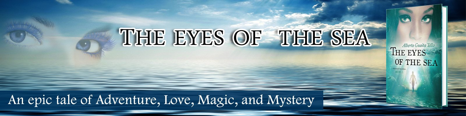The Eyes of The Sea - Twins of Telluria Book 1