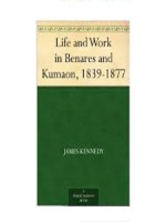 Life and Work in Benares and Kumaon, 1839-1877
