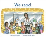 We read: Read Along or Enhanced eBook