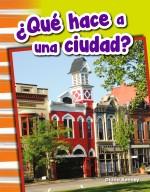 ¿Qué hace a una ciudad?: Read-along eBook