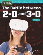 STEM: The Battle between 2-D and 3-D: Shapes: Read-along ebook