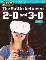STEM: The Battle between 2-D and 3-D: Shapes: Read-along ebook