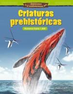 Animales asombrosos: Criaturas prehistóricas: Números hasta 1,000: Read-along ebook