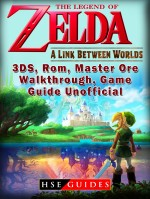 The Legend of Zelda a Link Between Worlds, 3DS, Rom, Master Ore, Walkthrough, Game Guide Unofficial