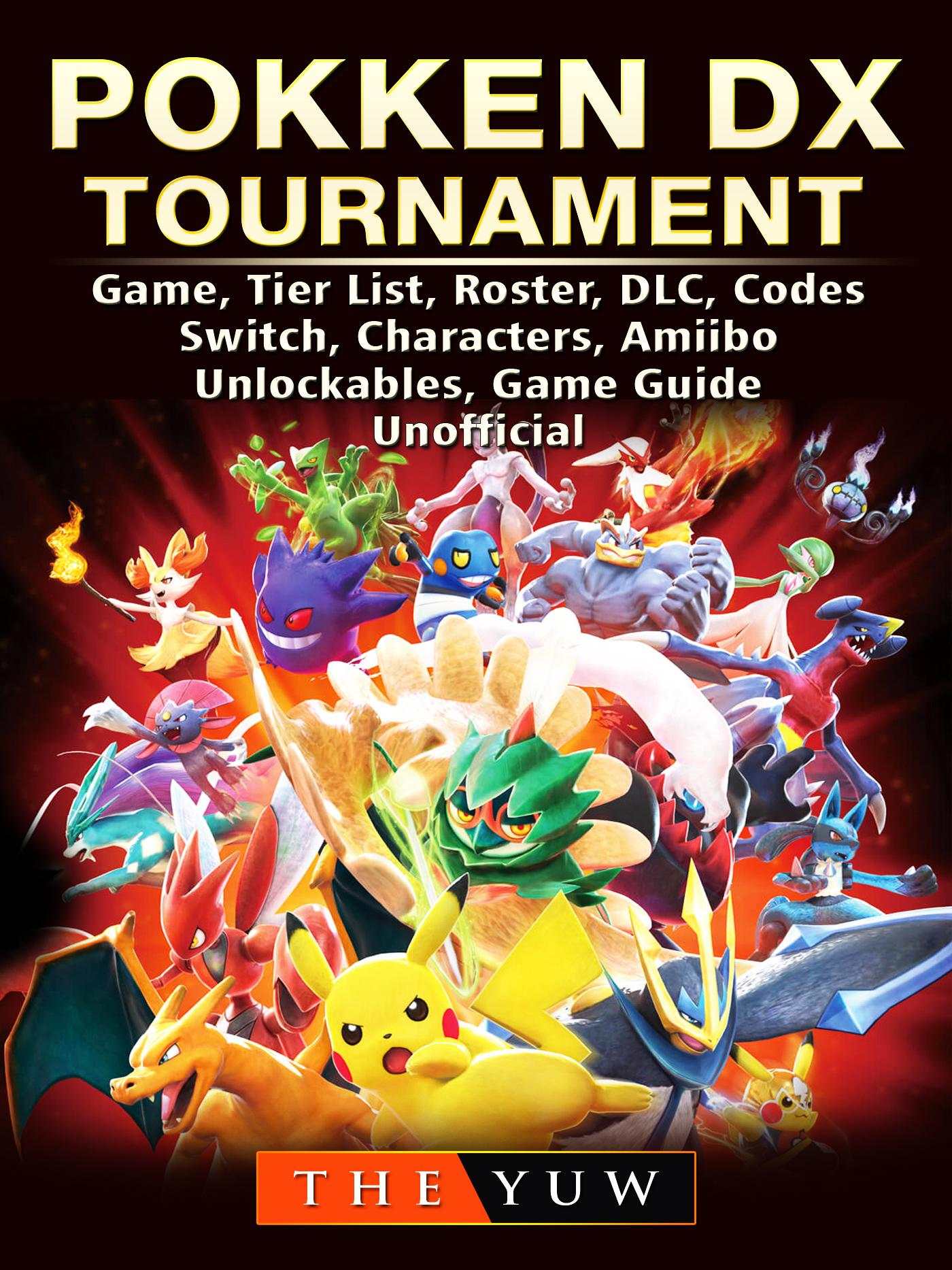pokken dx tournament game tier list roster dlc codes switch