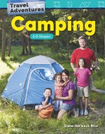 Travel Adventures: Camping: 2-D Shapes: Read-Along eBook