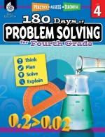 180 Days of Problem Solving for Fourth Grade: Practice, Assess, Diagnose