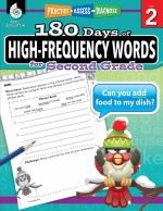 180 Days of High-Frequency Words for Second Grade: Practice, Assess, Diagnose Level 2