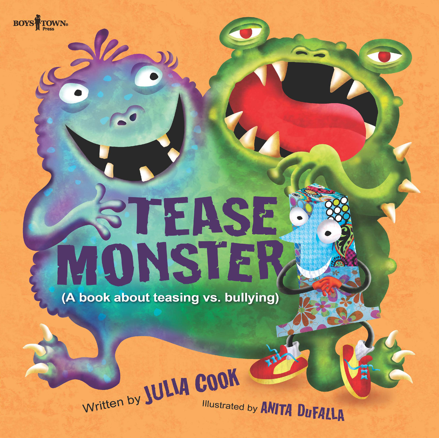 Tease Monster By Julia Cook