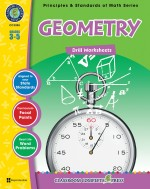 Geometry - Drill Sheets Gr. 3-5