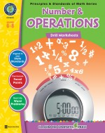 Number & Operations - Drill Sheets Gr. 6-8