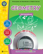 Geometry - Drill Sheets Gr. 6-8