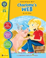 Charlotte's Web - Literature Kit Gr. 3-4