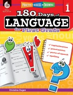 180 Days of Language for First Grade: Practice, Assess, Diagnose