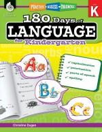 180 Days of Language for Kindergarten: Practice, Assess, Diagnose