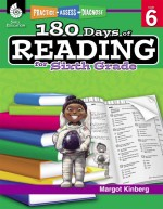 180 Days of Reading for Sixth Grade: Practice, Assess, Diagnose