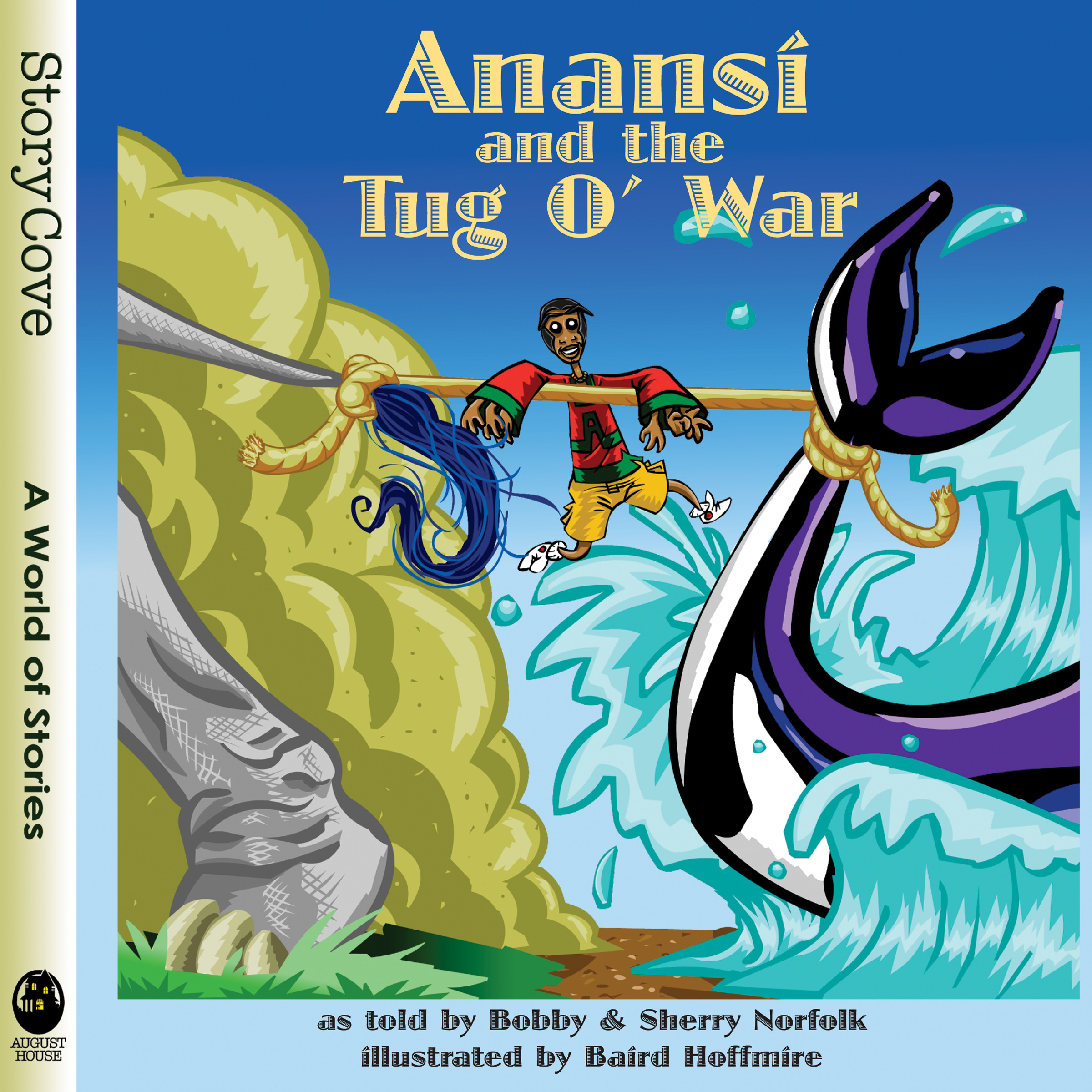 Anansi and the Tug o' War: Read Along or Enhanced eBook By Bobby Norfolk