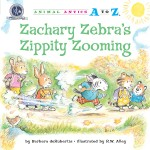 Zachary Zebra's Zippity Zooming: Read Along or Enhanced eBook