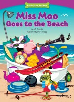 Miss Moo Goes to the Beach: Read Along or Enhanced eBook
