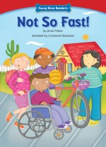 Not So Fast!: Read Along or Enhanced eBook