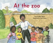 At the zoo: Read Along or Enhanced eBook