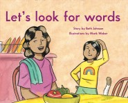 Let's look for words: Read Along or Enhanced eBook