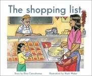 The shopping list: Read Along or Enhanced eBook