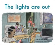 The lights are out: Read Along or Enhanced eBook