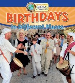 Birthdays in Different Places: Read Along or Enhanced eBook