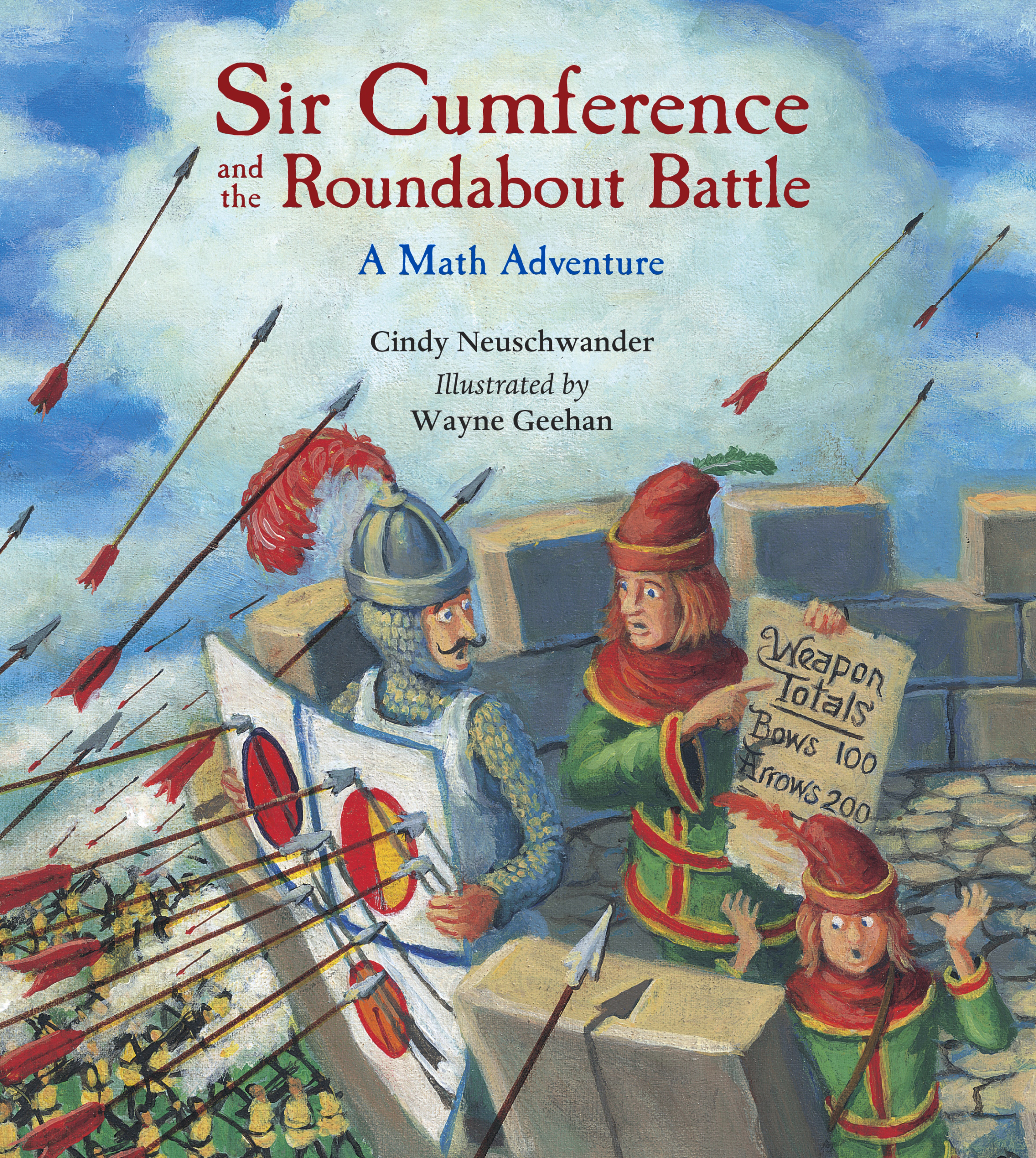 Sir Cumference and the Roundabout Battle: Read Along or Enhanced eBook By Cindy Neuschwander