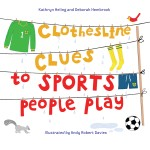 Clothesline Clues to Sports People Play: Read Along or Enhanced eBook