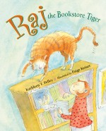 Raj the Bookstore Tiger: Read Along or Enhanced eBook