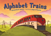 Alphabet Trains: Read Along or Enhanced eBook
