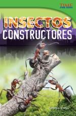 Insectos constructores: Read Along or Enhanced eBook