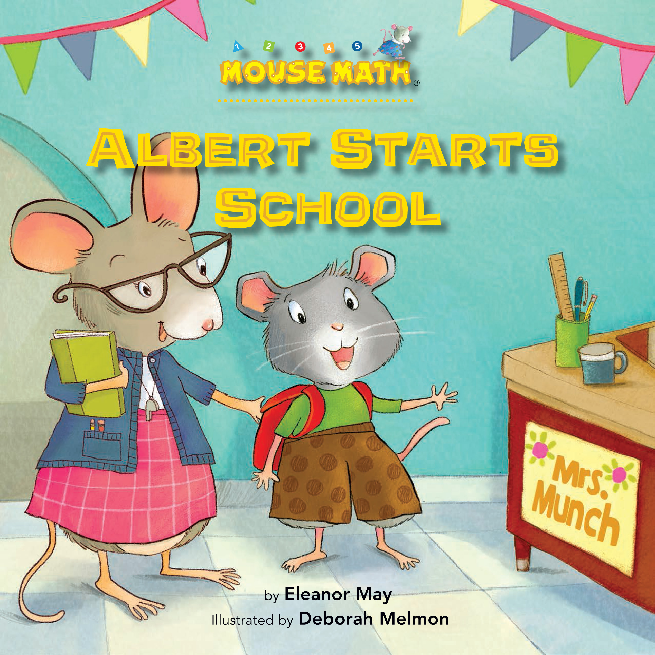 Albert Starts School: Read Along or Enhanced eBook