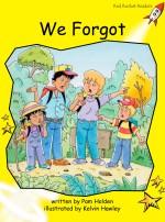 We Forgot (Readaloud)