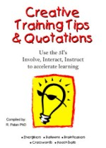 Creative Training Tips & Quotations